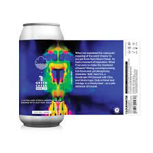 Cloudwater x Green Cheek   A Cheeky Beer   Quadruple IPA 12.5% 440ml