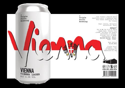 Triple Point Brewing | Vienna | Vienna Lager 4.9% 440ml