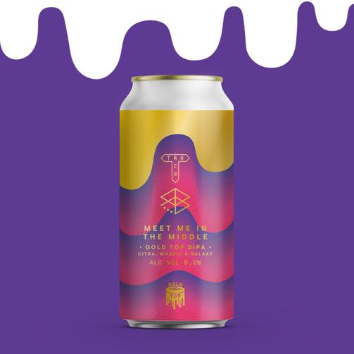 Track   Meet Me In The Middle   Gold Top DIPA 8.5% 440ml