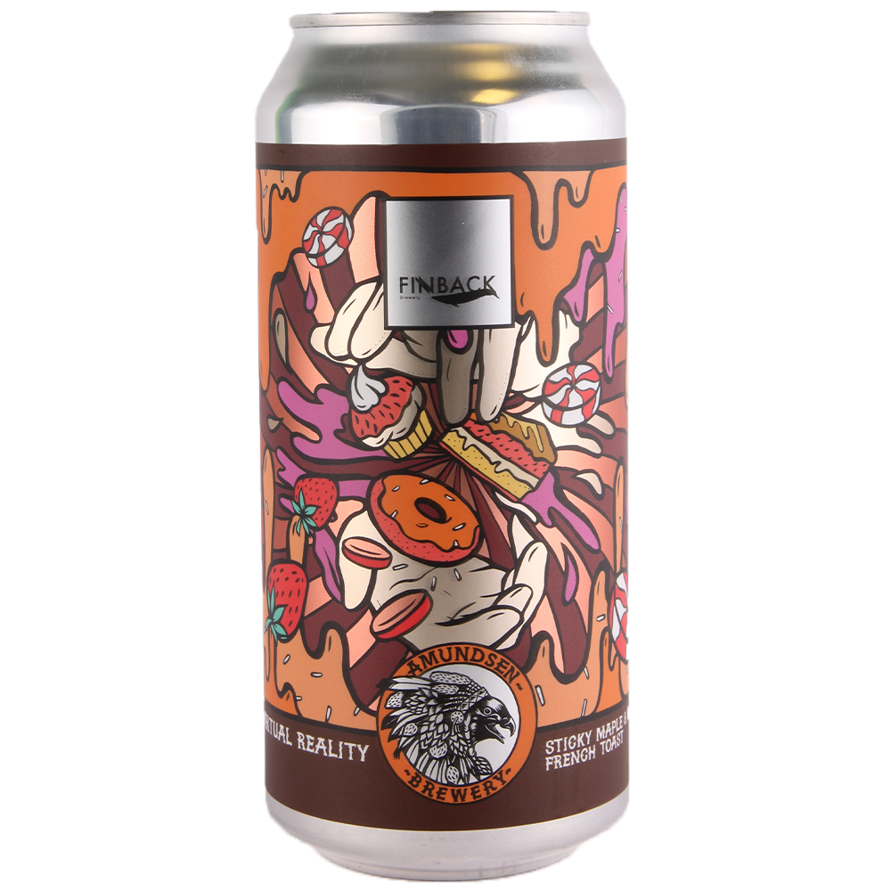 Amundsen x Finback | Virtual Reality 02 | Sticky Maple French Toast  12% 440ml