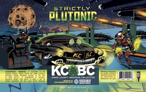 KCBC + Rockaway Brewery | Strictly Plutonic | Classic Stout 473ml 6%