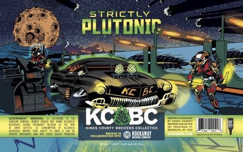 KCBC + Rockaway Brewery | Strictly Plutonic | Classic Stout 473ml 6%