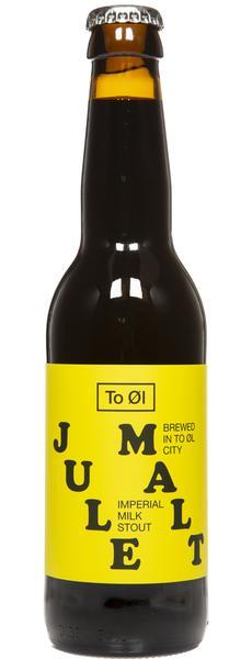 To Øl | Jule Malt | Imperial Milk Stout 13% 330ml