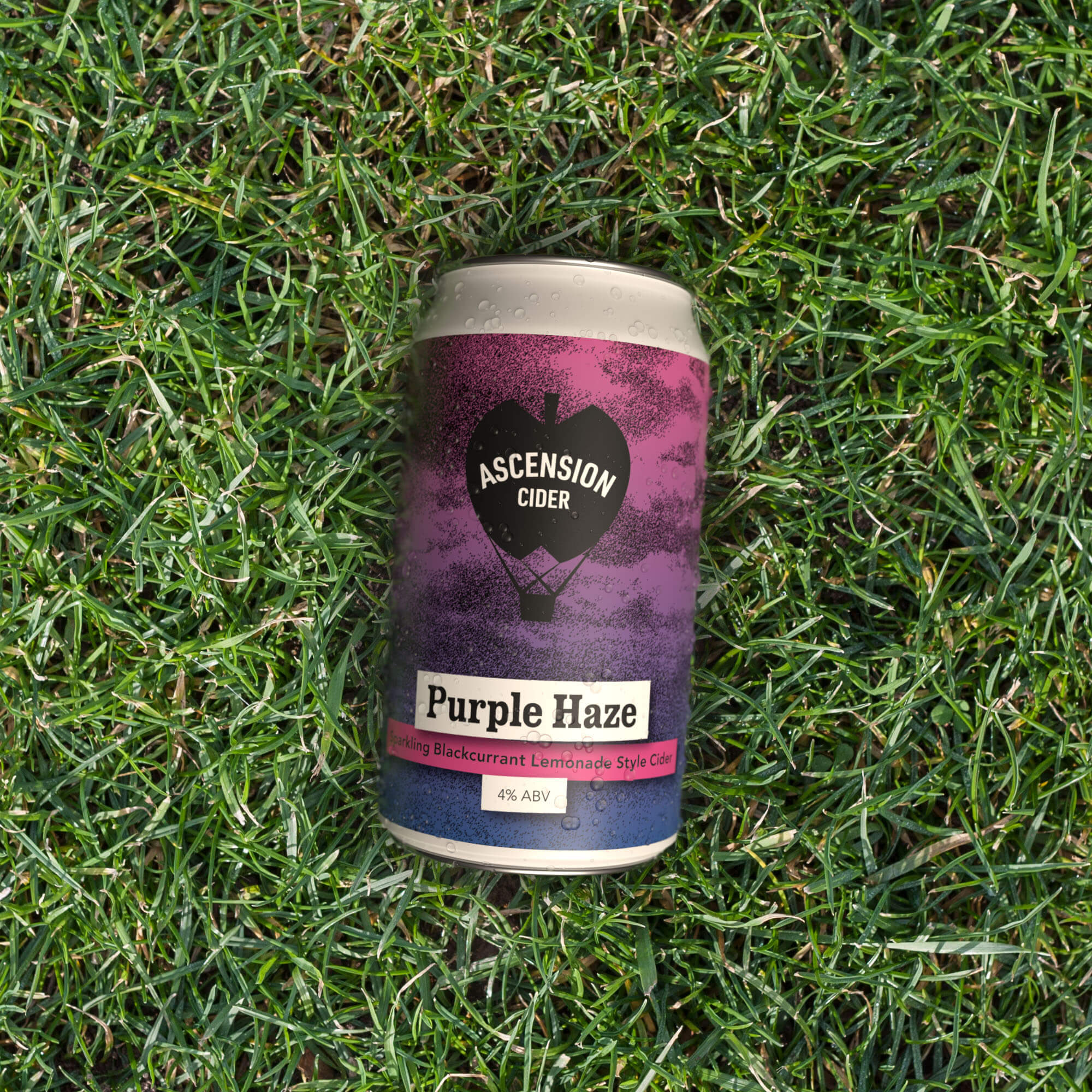 Ascension | Purple Haze | Sparkling Blackcurrant Lemonade Cider 4% 330ml