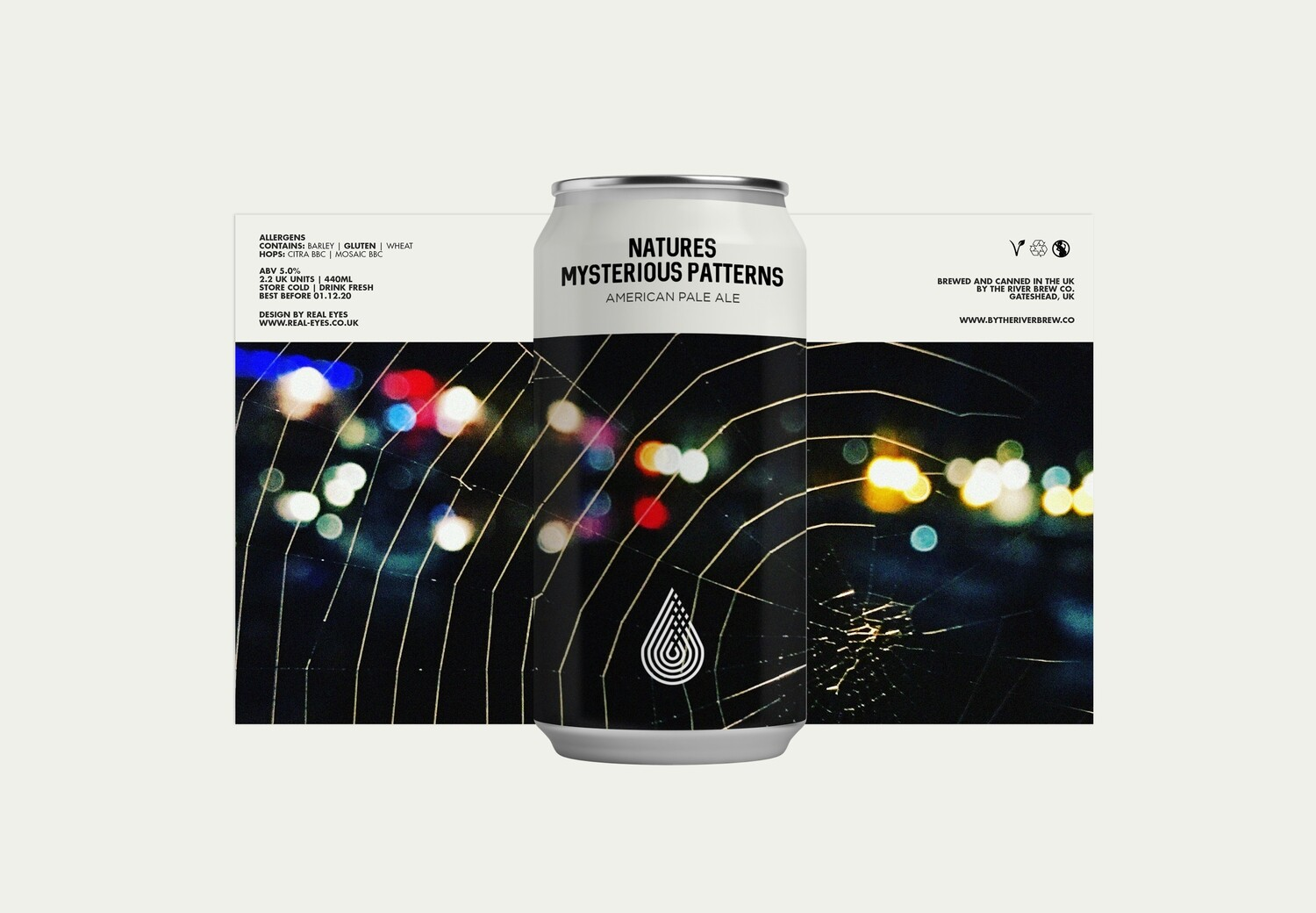 By The River | Natures Mysterious Patterns | American Pale Ale 5.0% 440ml