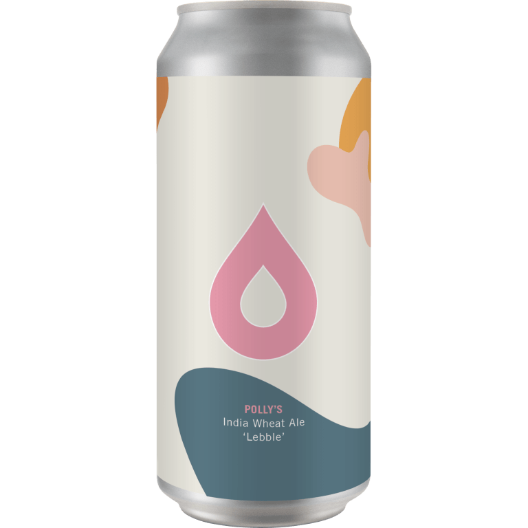 Polly's Brew Co | Lebble | Dry Hopped IDW (Indian wheat ale) 7.2% 440ml