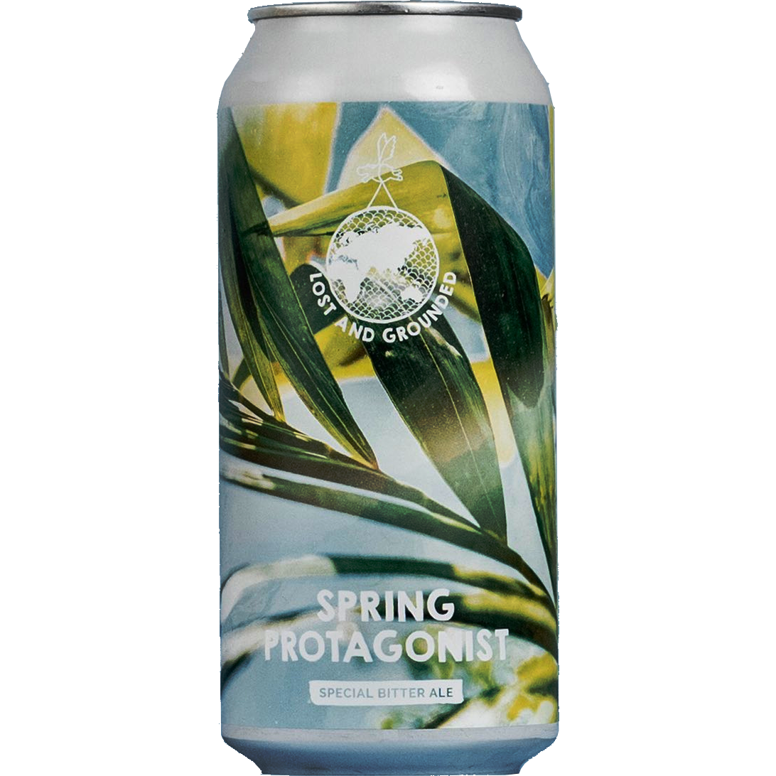 Lost & Grounded | Spring Protagonist | Amber Best Bitter 4.8% 440ml