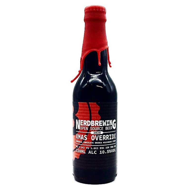 Nerdbrewing | Xmas Override Imperial Chocolate Orange Milkshake Stout (2020) | 10.5% 330ml **1 Per Customer**