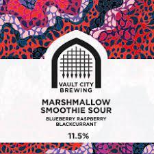 ON TAP Marshmallow Smoothie Sour | Blueberry Raspberry Blackcurrant 11.5% x 1 Litre