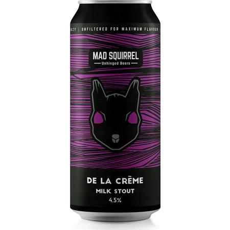 Mad Squirrel | De La Creme | Milk Stout 4.5% 440ml