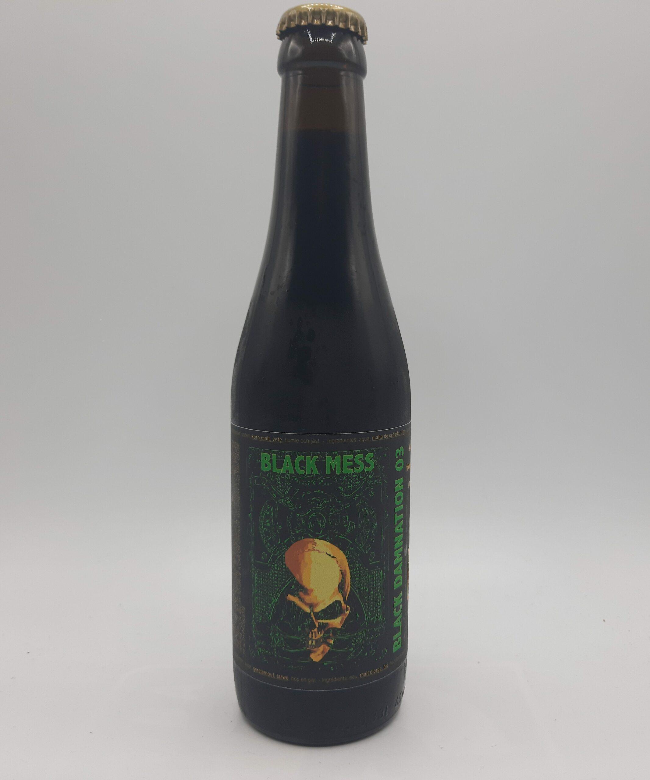 Struise | Black Damnation 03 Black Mass | 2yrs Peated Whiskey Barrel Aged Imperial Stout 13% 330ml