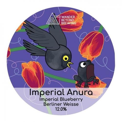Wander Beyond Brewing | Imperial Anura | Imperial Blueberry Berliner Weisse 12% 440ml