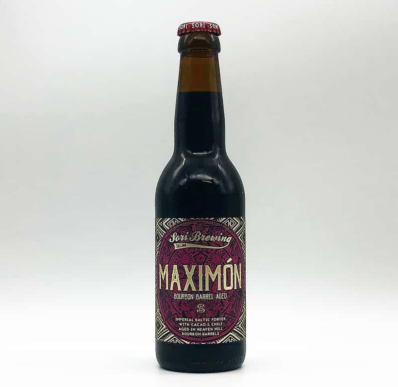 Sori Brewing | Maximon Heaven Hill BA | Imperial Baltic Porter 12% 330ml