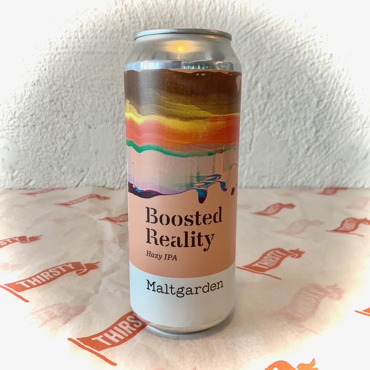 Maltgarden | Booted Reality | Hazy IPA 5.3% 500ml