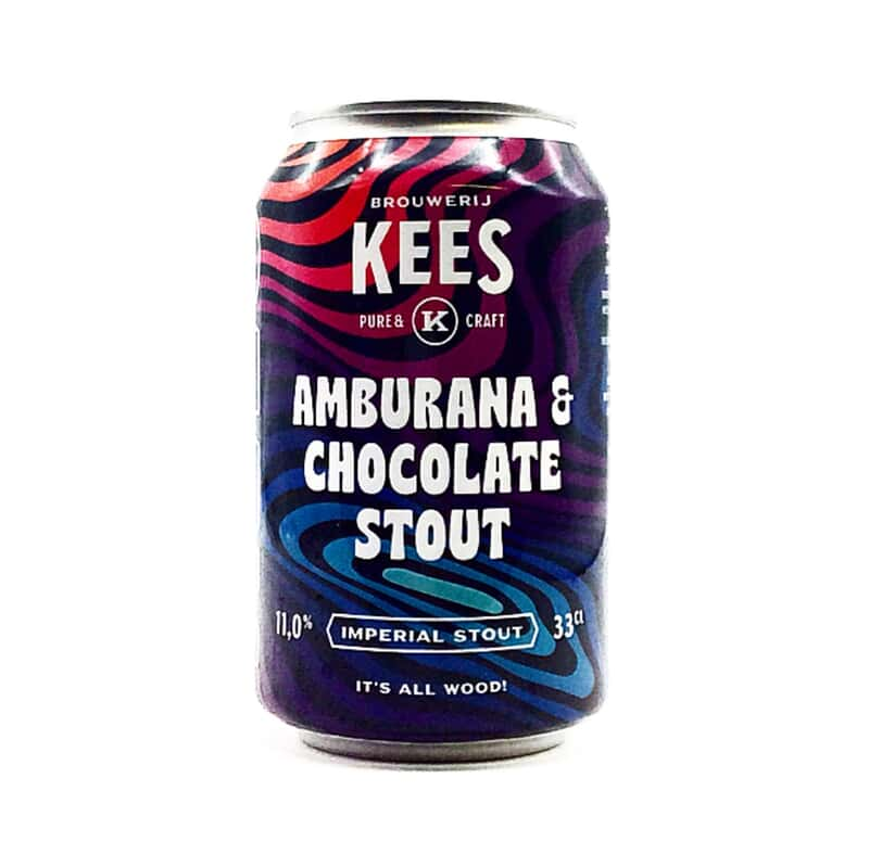 Kees | Amburana & Chocolate Stout | Pastry Imperial Stout 11.5% 330ml