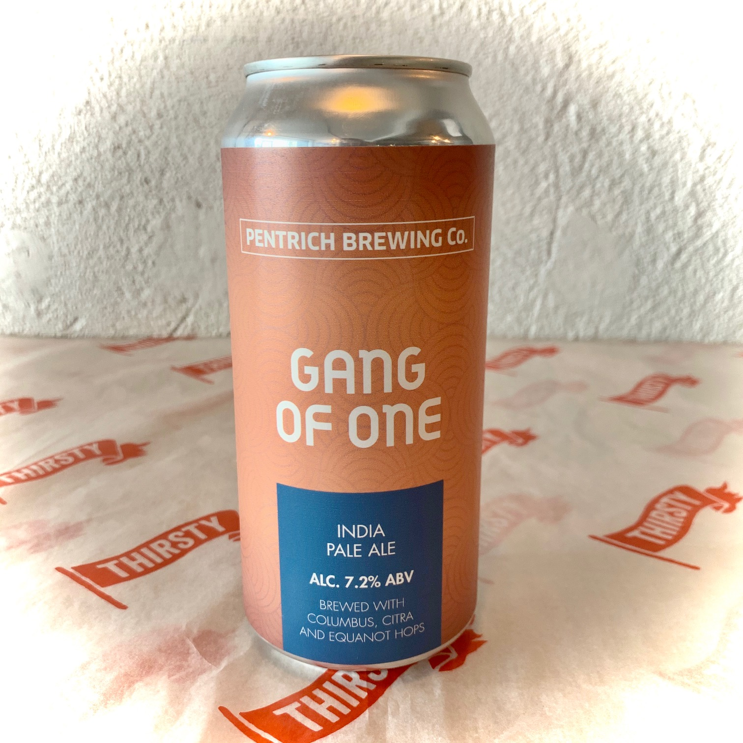 Pentrich | Gang of One | IPA 7.2% 440ml