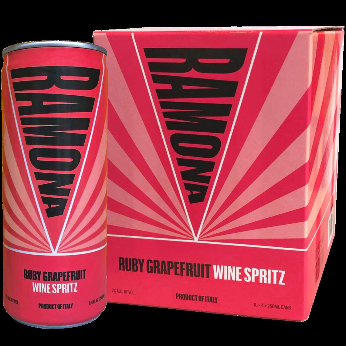 Ramona Spritz Grapefruit 4 pack