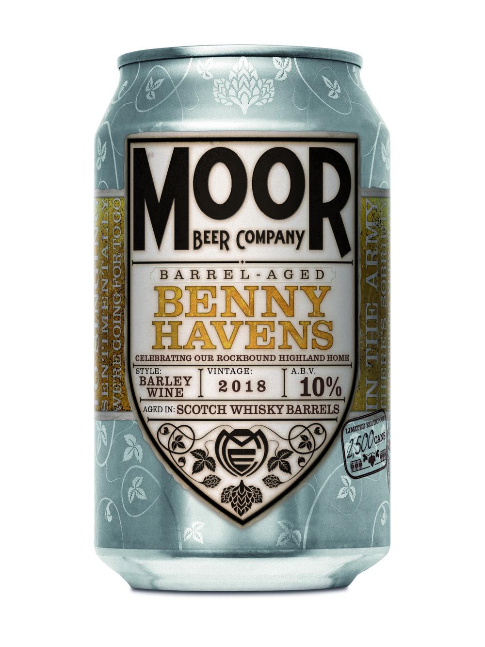 Moor | SWBA Benny Havens | BA Barley Wine 10% 330ml