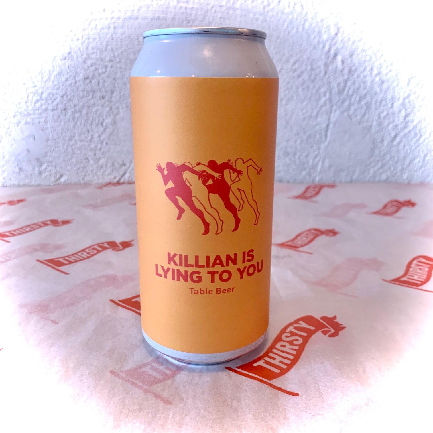 Pomona Island   Killian is Lying To You   Table Beer 3.3% 440ml