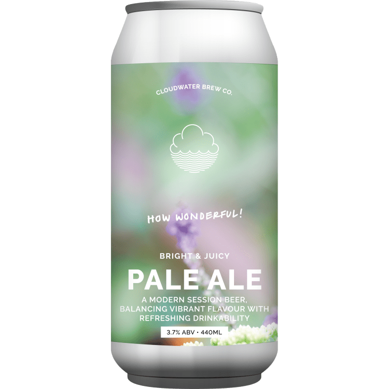 Cloudwater | How Wonderful! | DDH Pale 3.7% 440ml