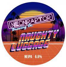 ON TAP Neon Raptor | Naughty Luggage | New England IPA 6.8%