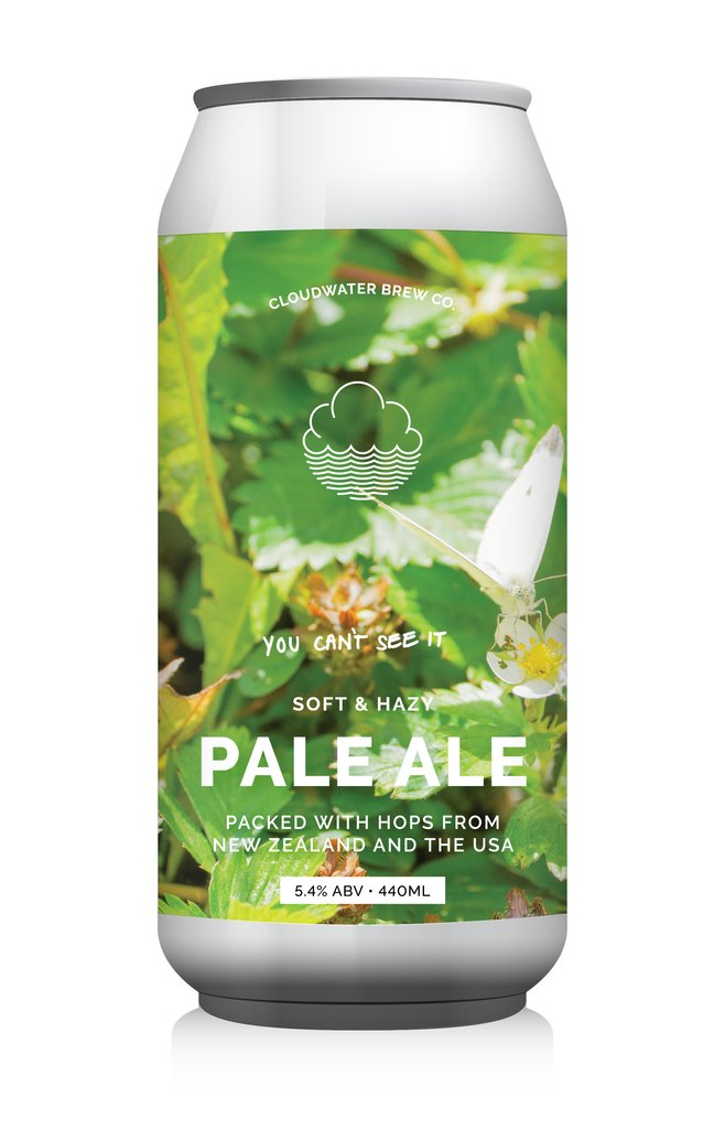 Cloudwater | You Can't See It  | Pale Ale 5.4% 440ml
