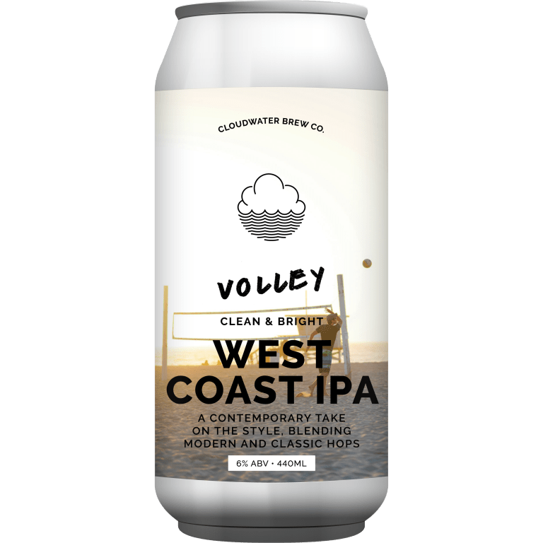 Cloudwater   Volley   West Coast IPA 6% 440ml