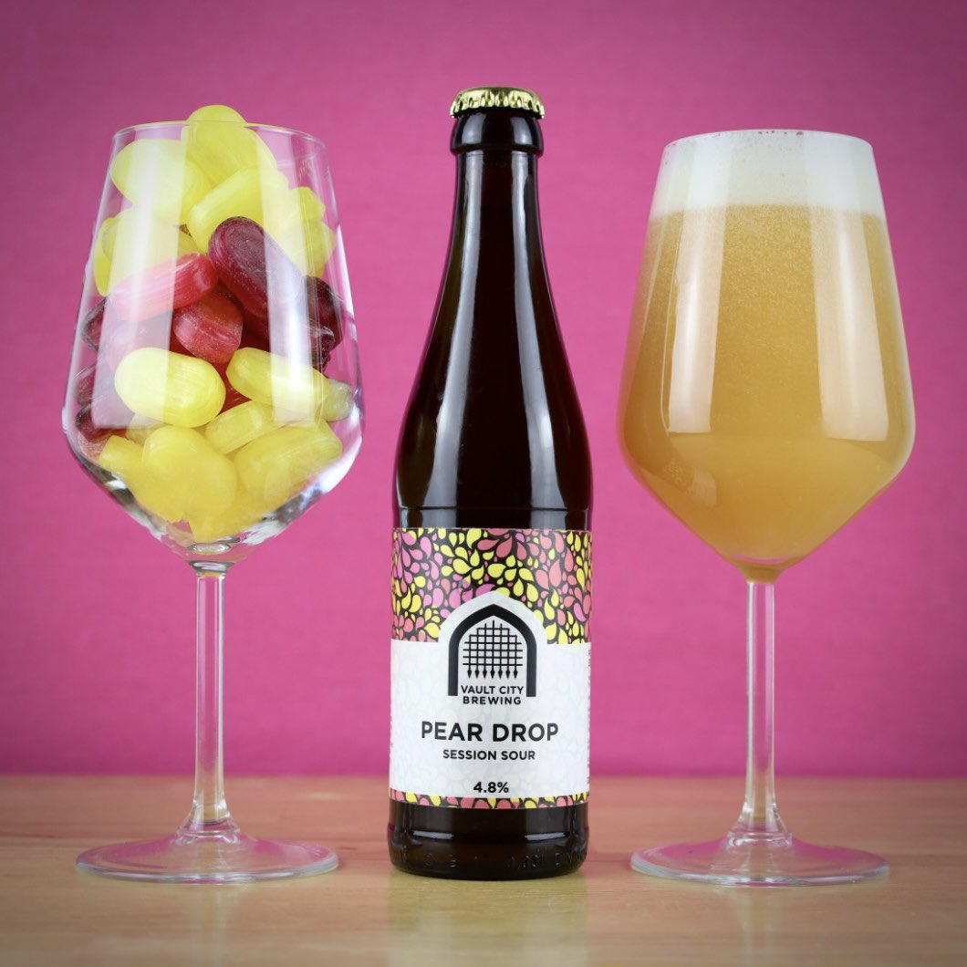 Vault City | Pear Drop Session Sour | Modern Sour  4.8% 330ml