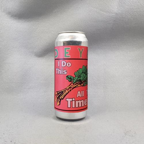 DEYA   I Do This All The Time   Rhubarb Wheat Beer 4.5% 500ml