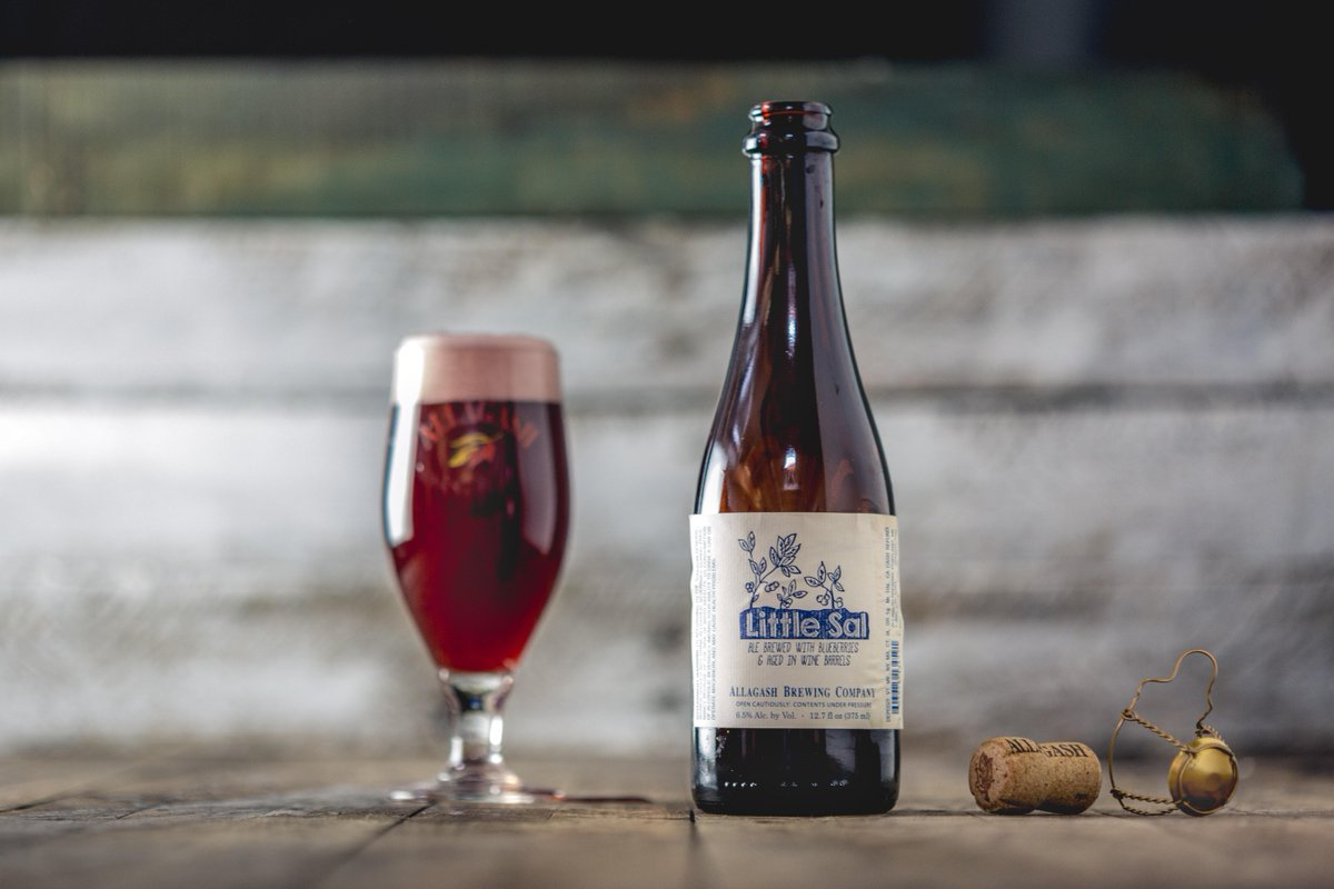 Allagash Brewing Company | Little Sal | Blueberry Sour 6% 375ml