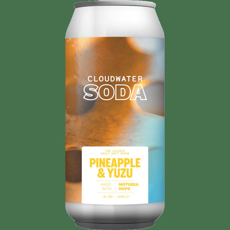 Cloudwater | Pineapple Yuzu Soda | Motueka Hopped Soda 440ml