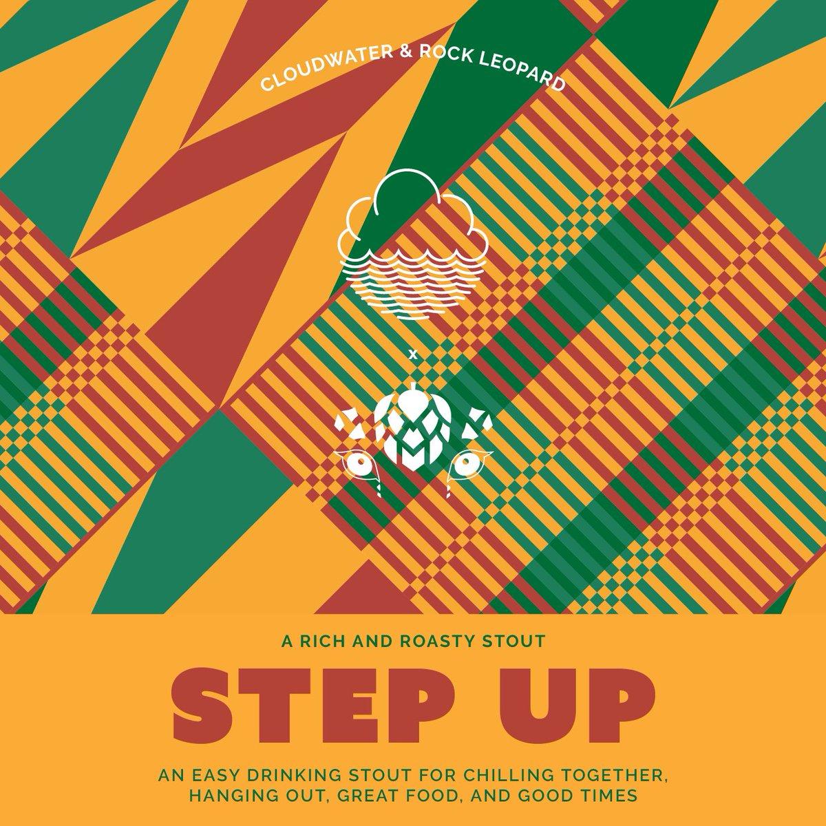 ON TAP Step Up | Cloudwater x Rock Leopard | Stout 5% x 1 Litre