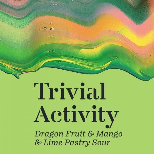 Maltgarden | Trivial Activity|  Dragon Fruit & Mango & Lime Pastry Sour 5.5% 500ml