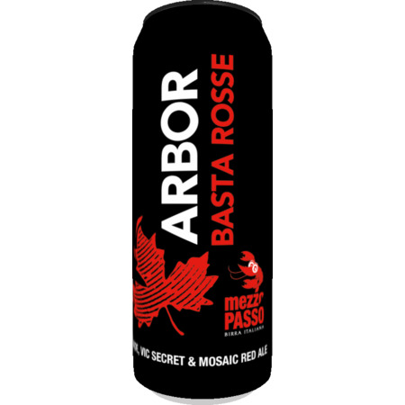 Arbor | Basta Rosse! | Red Ale 5% 568ml
