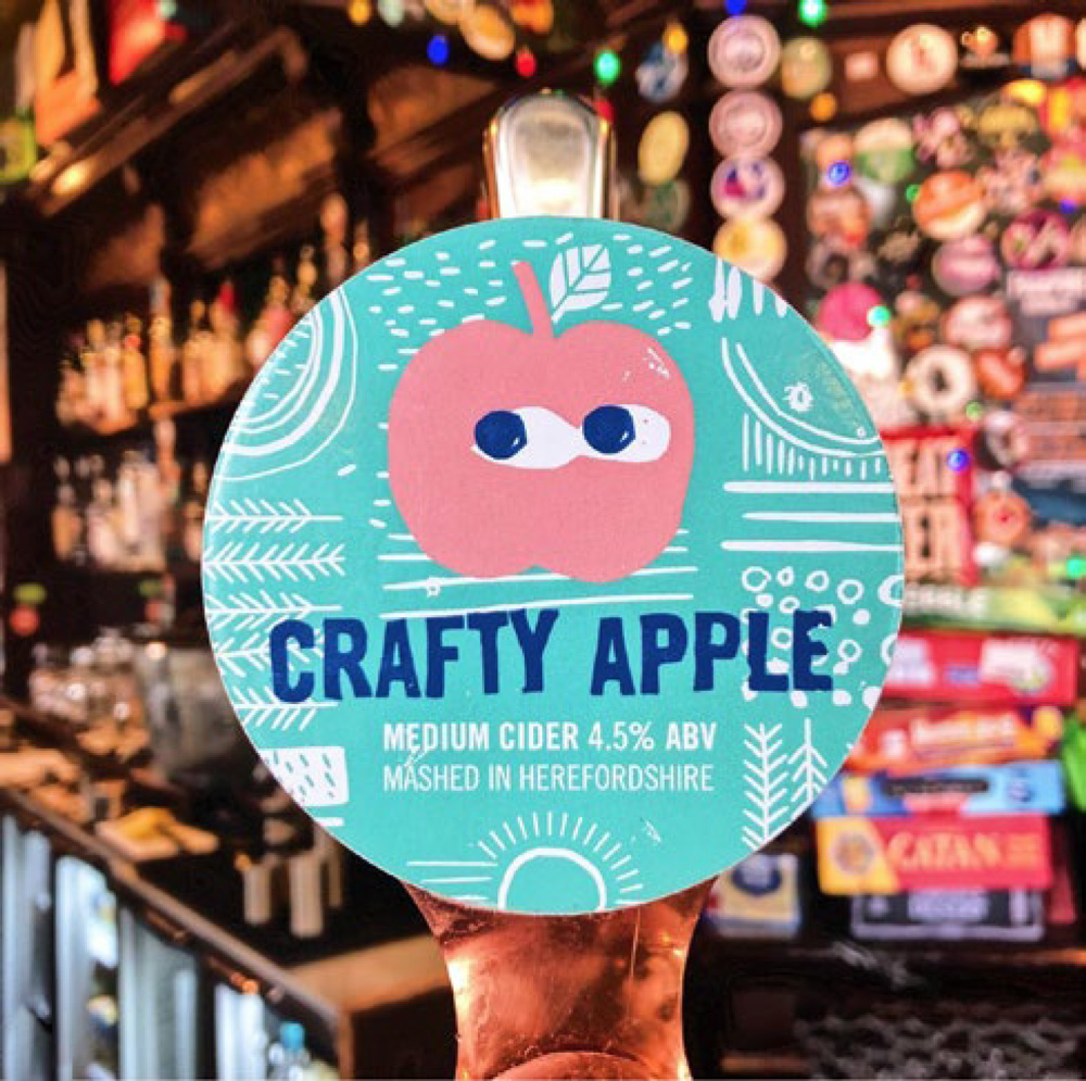 ON TAP Real AL Co | Crafty Apple | Medium Sparkling Cider 4.5% x 1 LITRE