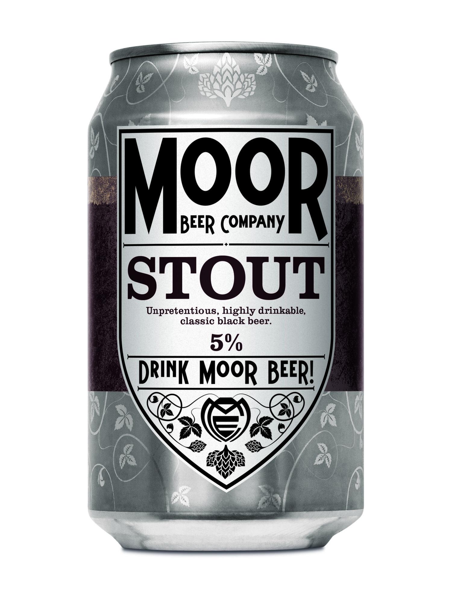 Moor | Stout |  5% 330ml