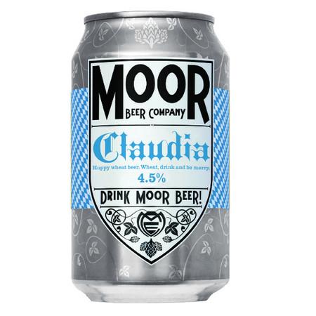 Moor | Claudia | Hoppy Wheat Beer 4.5% 330ml
