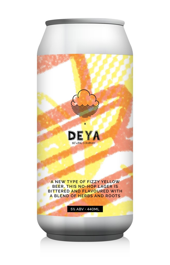 Cloudwater x Deya | I Forgot Your Snapback | No Hop Lager 5.0% 440ml