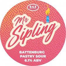 S43 Brewing | Mr Sipling | Battenburg Pastry Sour 6.1% 440ml