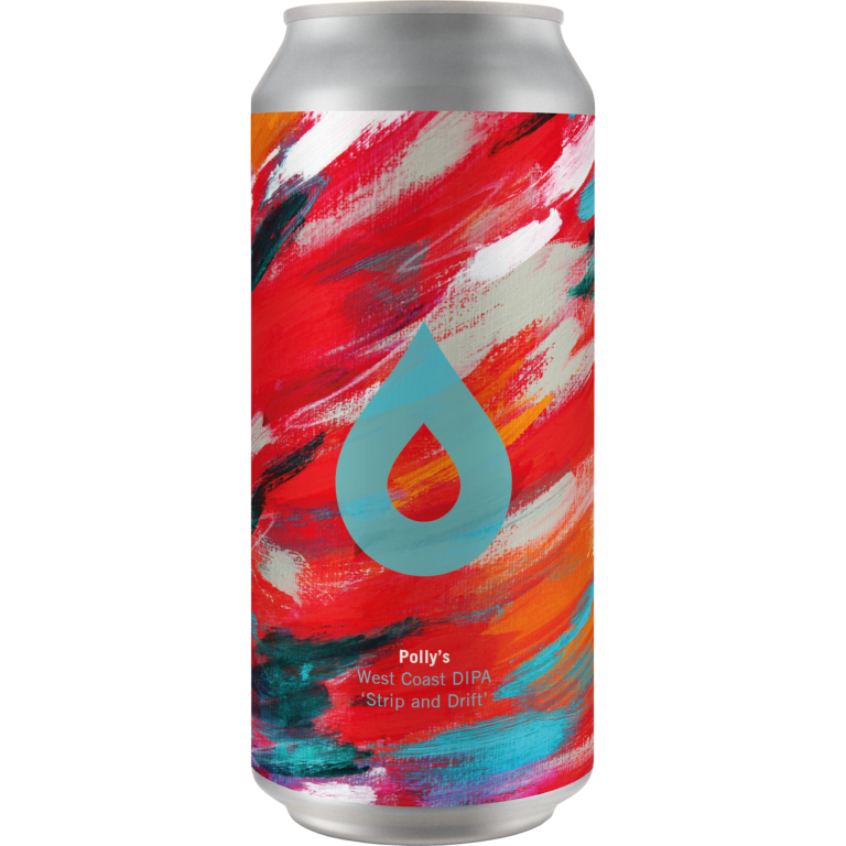 Polly's Brew Co | Strip & Drift | West Coast DIPA 9% 440ml