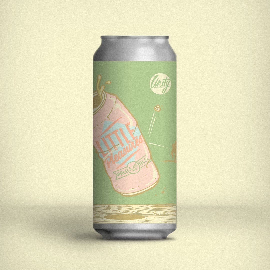 Unity Brewing Co. | Little Pleasures | Session Pale Ale 3.2% 440ml