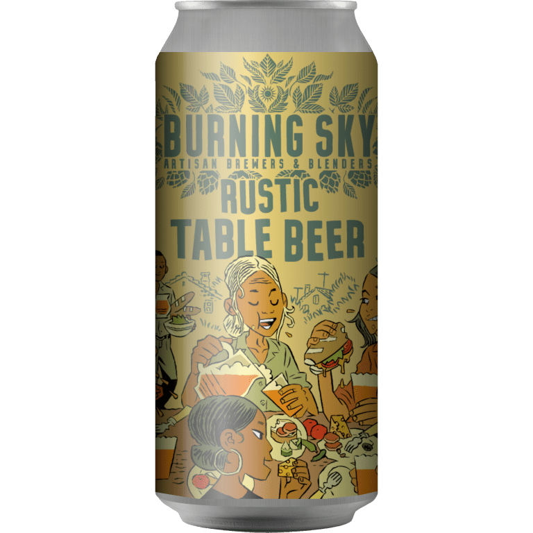 Burning Sky | Rustic Table Beer | Session Pale  3% 440ml