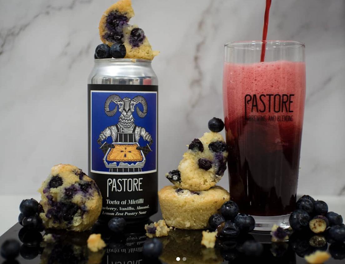 Pastore | Torta ai Mirtilli | Blueberry Pastry Sour 6% 440ml