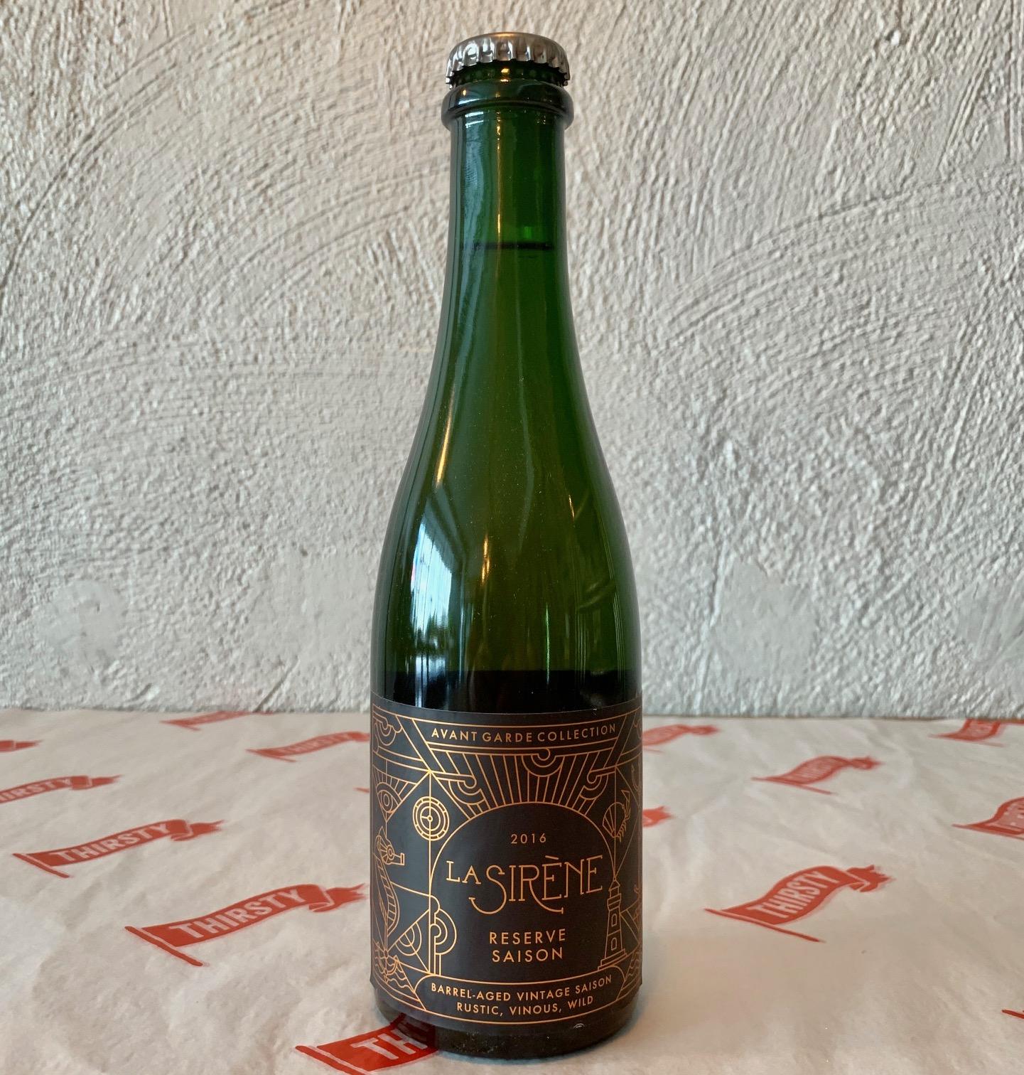 La Sirène Brewing | Reserve Saison | Blended Farmhouse Saison 7% 330ml