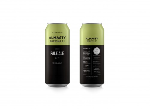 Almasty Brewing Co. | Green | Pale Ale 5% 440ml