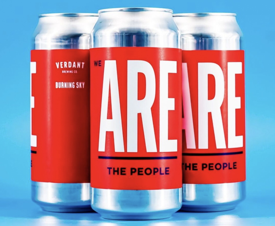 Verdant x Burning Sky | We are the people | Double IPA 8% 440ml