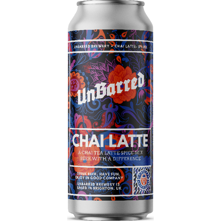 Unbarred | Chai Latte | Chai Tea Infused Soft Pale 5% 440ml
