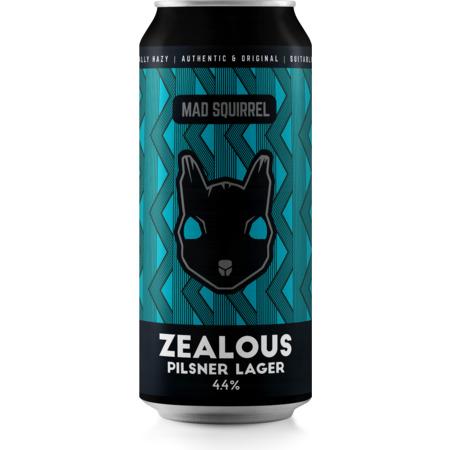 Mad Squirrel | Zealous | Pilsner 4.4% 440ml