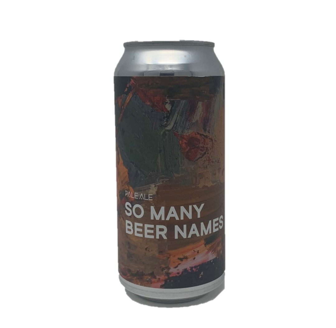 Boundary | So Many Beer Names | Pale Ale 4.5% 440ml