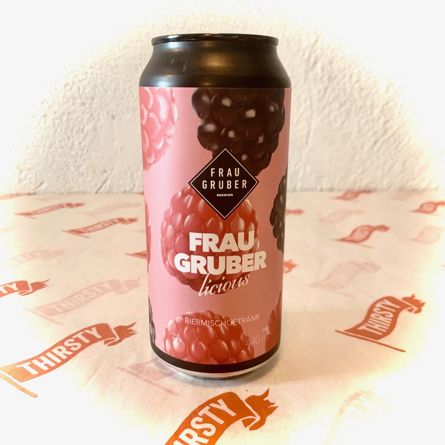 Frau Gruber | Fraugruberlicious | Raspberry & Blackberry Fruit Sour 4.5% 440ml